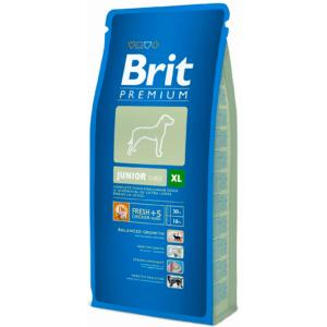 Корм для щенков и молодых собак гигантских пород весом от 45 до 90кг Brit Premium Junior XL