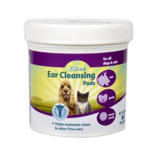 Салфетки гигиенические для ушей собак и кошек 8in1 Ear Cleansing Pads (90шт)