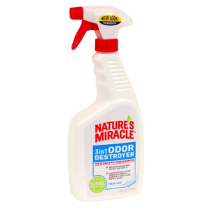 Спрей - Устранитель запахов 3в1 (с ароматом свежего белья) 8in1 Nature's Miracle