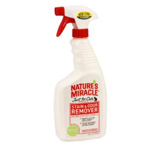 Спрей - Устранитель пятен и запахов котов 8in1 Nature's Miracle