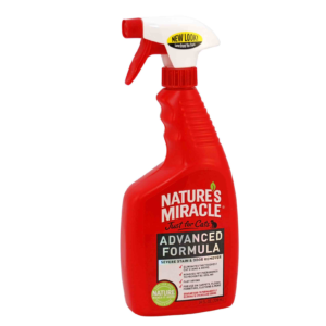 Спрей - Устранитель пятен и запахов с усиленной формулой для котов 8in1 Nature's Miracle