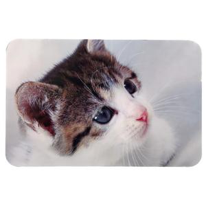 "Коврик под миски для котов Trixie ""Cat Photo"" 43х28см"