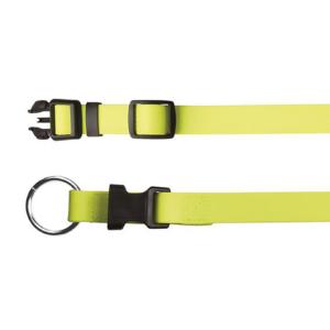 """Ошейник Trixie """"Easy Life"""" желтый неон пластиковая застежка L–XL 40–65 см./20 мм."""