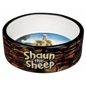 """Миска керамическая Trixie """"Shaun the Sheep"""" коричневая"""