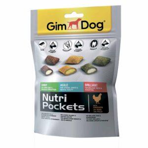 Витаминизированное лакомство для собак Подушечки Микс Gimdog Nutri Pockets Mix для зубов