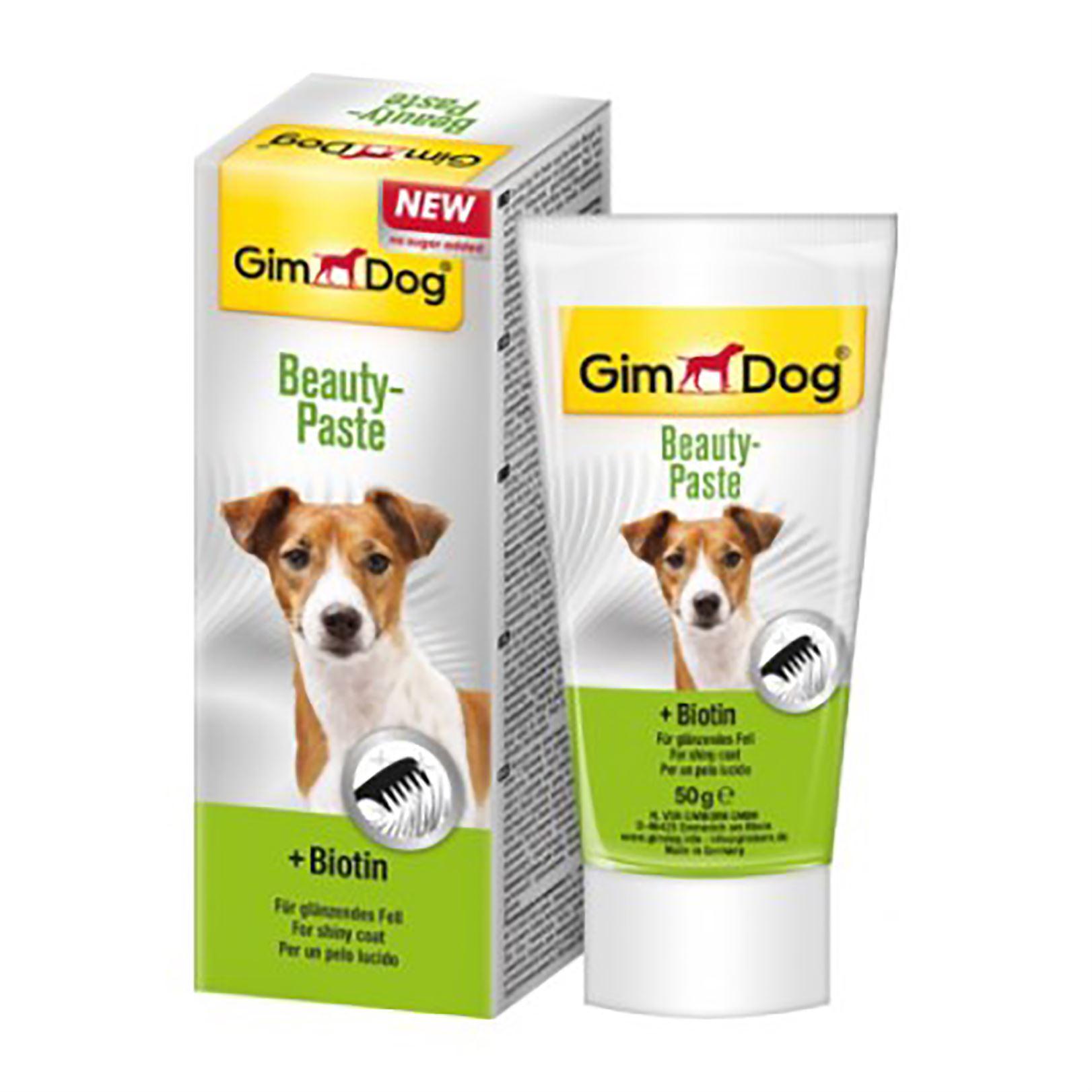 Витаминная паста для собак с биотином Gimdog Beauty Paste