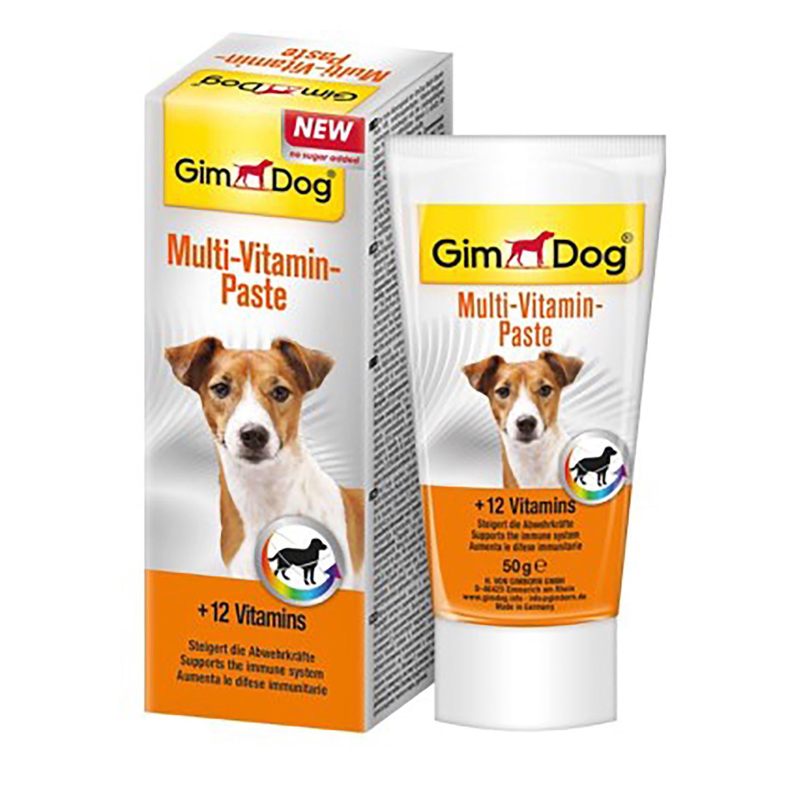 Витаминная паста для собак мультивитамин Gimdog Multi-vitamin Paste