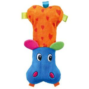 Игрушка для собак Бегемот мини яркий Trixie плюш