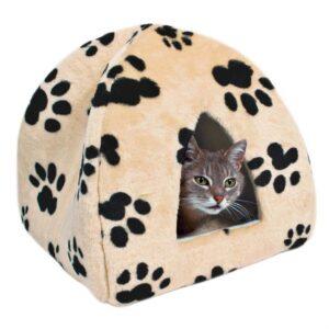 """Домик для кота """"SHEILA"""" Trixie бежевый 40х35х40 см."""