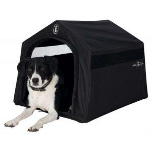 "Дом уличный для собак ""King of Dogs"" Trixie черный нейлон 59х54х70 см."