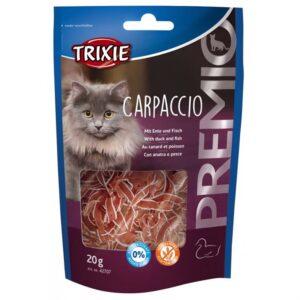 """Лакомство для кошек – """"PREMIO Carpaccio"""" утка и рыба Trixie 20 гр."""