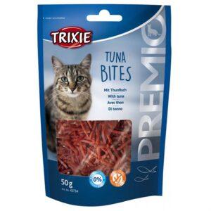 """Лакомство для кошек –  """"PREMIO Tuna Bites"""" тунец Trixie 50 гр."""
