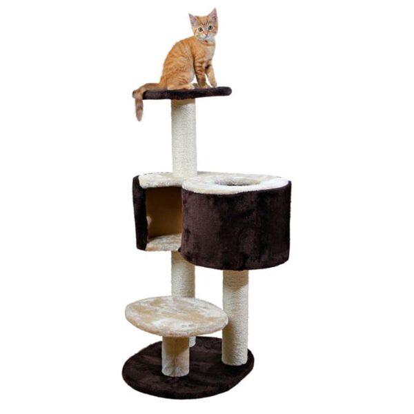 """Дряпка для кошек """"Elvio"""" Trixie коричневая/бежевая 97 см."""