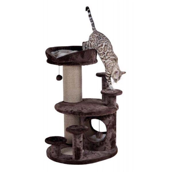 """Дряпка для кошек """"Emil senior"""" Trixie коричневая/бежевая 96 см."""