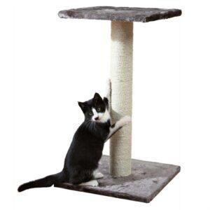 """Дряпка для кошек """"Espejo"""" Trixie серая, бежевая 69 см."""
