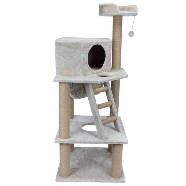"""Дряпка для кошек """"Marlena"""" Trixie светло-серая 151 см."""