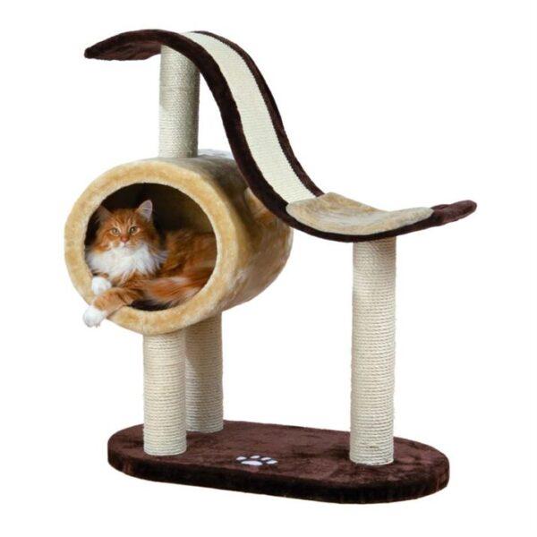 """Дряпка для кошек """"Nerja"""" Trixie бежевая/коричневая 99 см."""