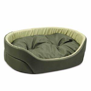 """Лежак для собак Природа """"Омега"""" 1; 2; 3; 4; 5 хаки-оливка"""