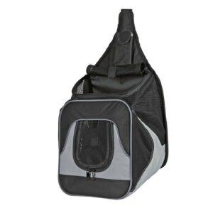 """Рюкзак-переноска для собак """"Savina"""" Trixie черный/серый 30 x 33 x 26 см. (до 10 кг.)"""