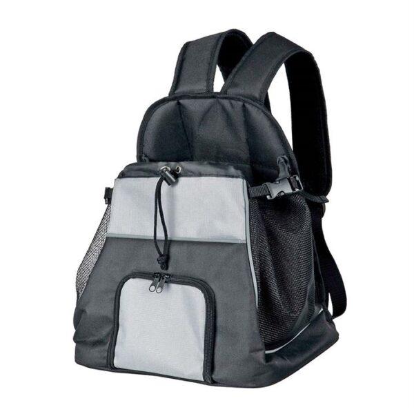 """Рюкзак-переноска для собак """"Tamino"""" фронтальный Trixie черный/серый 32 x 37 x 24 см. (до 5 кг.)"""