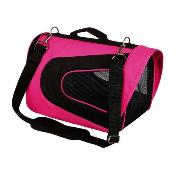 """Сумка-переноска для собак """"Alina"""" Trixie розовая/черная, синяя/голубая 22 x 23 x 35 см. (до 5 кг.)"""