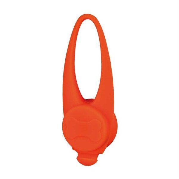 Брелок-фонарик мигающий Trixie силиконовый (цвета в ассортименте) 8/11 см.