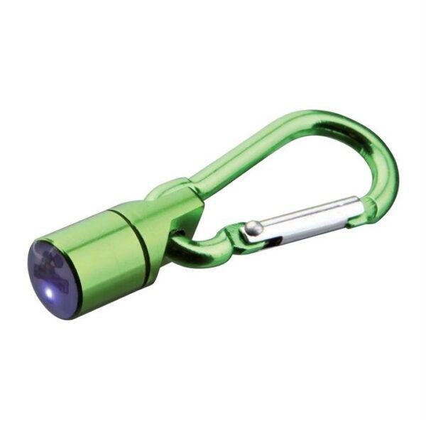 Брелок-фонарик c карабином Trixie металл (цвета в ассортименте) d=1 см.