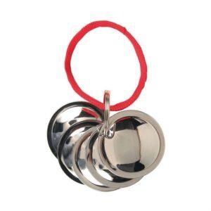 Брелок c металлическими дисками для тренировок собак Trixie d=4,5 см.