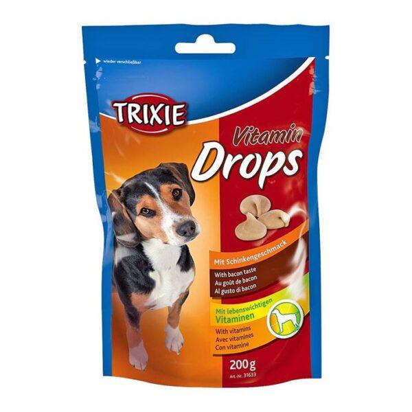 "Лакомство для собак ""Vitamin Drops"" Trixie 200 гр. (бекон)"