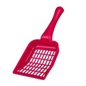 Лопатка большая для кошачьего туалета для уборки гранул и наполнителя Trixie размер M, пластик (цвета в ассортименте)