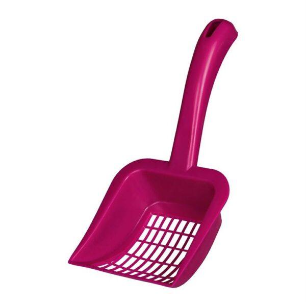 """Лопатка для кошачьего туалета для уборки гранул и наполнителя """"Fresh & Easy"""" Trixie размер L, пластик (цвета в ассортименте)"""