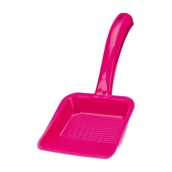 Лопатка для кошачьего туалета для уборки гранул и наполнителя Trixie размер L, пластик (цвета в ассортименте)