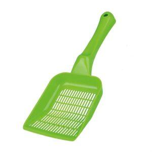 Лопатка для кошачьего туалета для уборки гранул и наполнителя Trixie размер M, пластик (цвета в ассортименте)