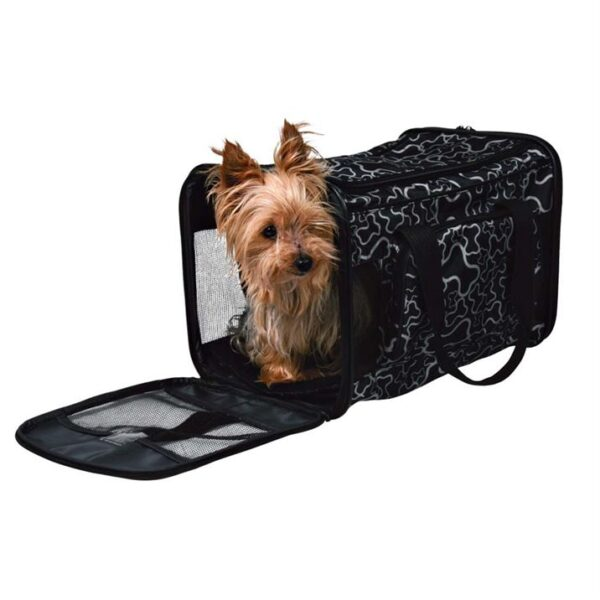 "Сумка-переноска для собак ""Adrina"" Trixie черная 26 x 27 x 42 см. (до 7 кг.)"