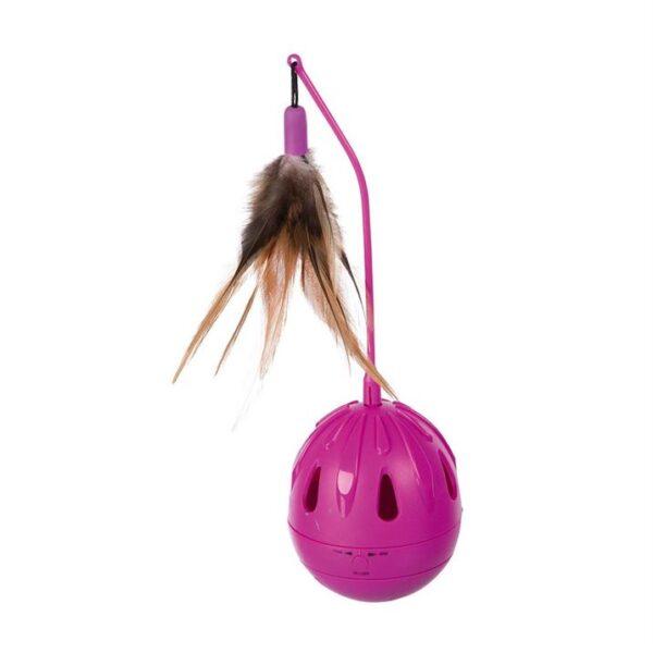 """Игрушка для кошек - Неваляшка """"Pop-up Egg"""" Trixie 7×24 см. пластик"""
