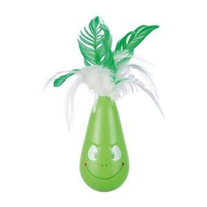 """Игрушка для кошек - Неваляшка """"Pop-up Frog"""" Trixie 6×25 см. пластик"""