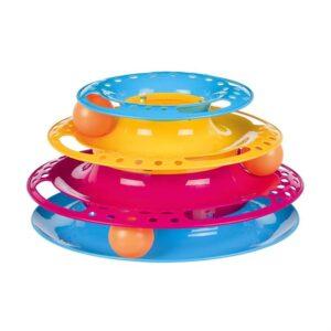 "Игрушка для кошек - Трек игровой ""Catch the Balls"" Trixie 25×13 см. пластик"