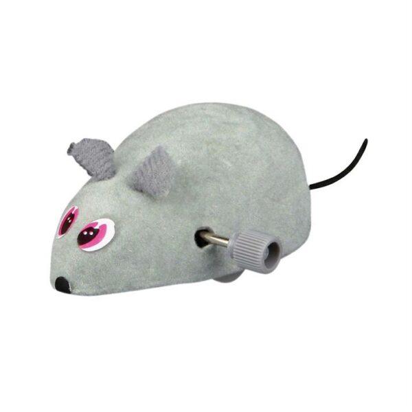 Игрушка для кошек Мышка заводная Trixie пластик 7 см.