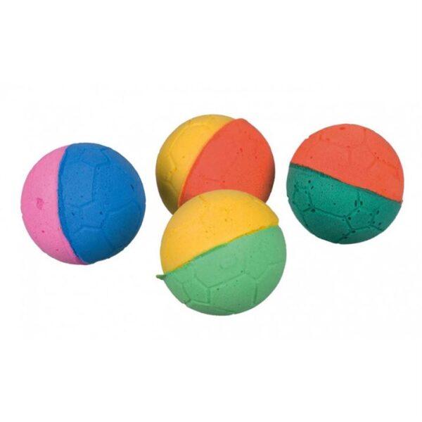 Игрушка для кошек Мячик мягкий Trixie вспененная резина 4,3 см.