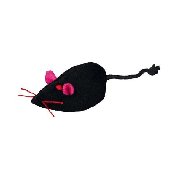 """Игрушка для кошек - Набор """"Парад мышей звенящих"""" Trixie плюш 5 см. (24 шт.)"""