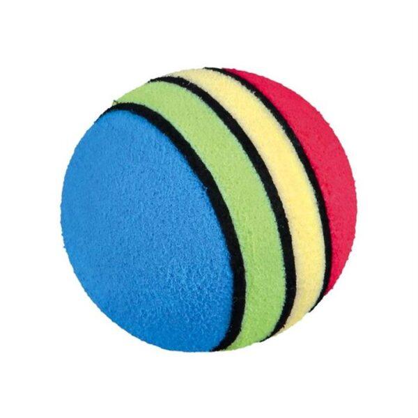Игрушка для кошек - Набор мячиков с погремушкой Trixie 3,5-4 см. (6 шт.)