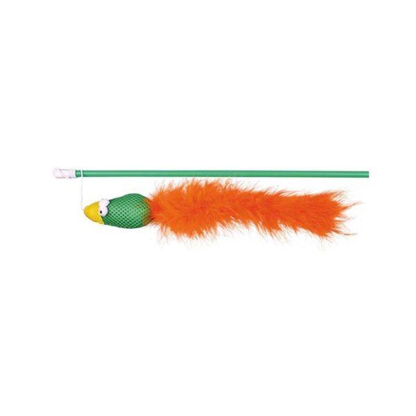 Игрушка для кошек Палочка с птичкой Trixie 50 см.