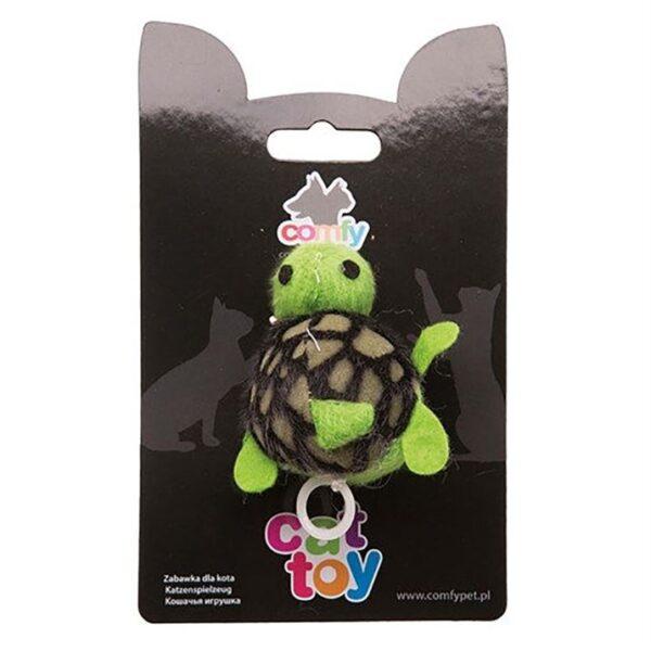 Игрушка для кошек Черепашка вибрирующая SHAKE Comfy 8,5 см.