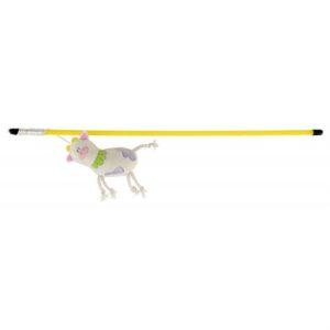 Игрушка для кошек – Палочка с яркой коровкой со звуком Trixie 47 см.