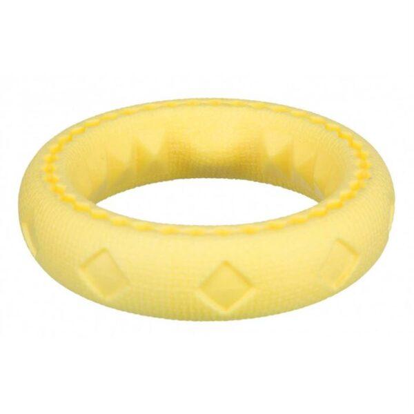 Игрушка для собак Кольцо плавающее Trixie 11 см., термопластичная резина