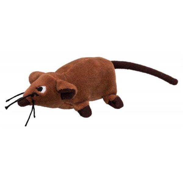 Игрушка для собак и кошек Крыса Trixie плюш 10 см.