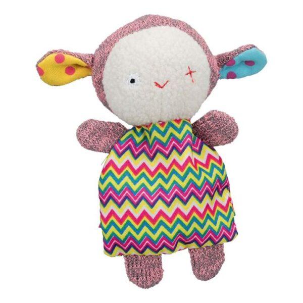 Игрушка для собак Овечка Trixie плюш/ткань 13 см.