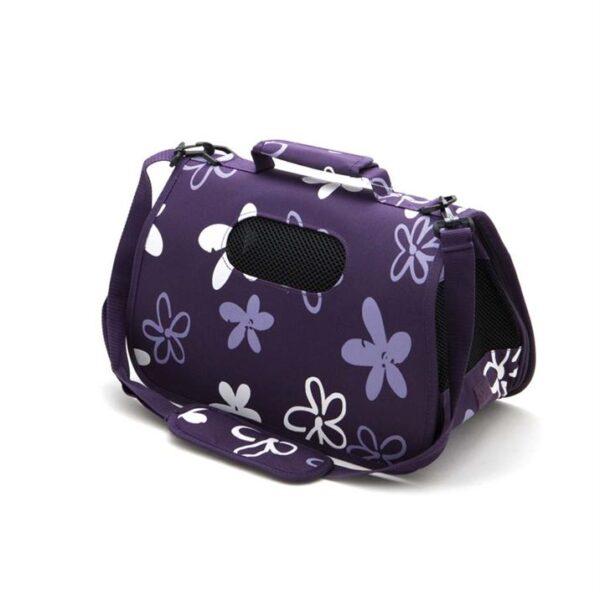"""Сумка-переноска для собак и кошек """"VANESSA"""" Comfy фиолетовая, M 49x22x29 см."""