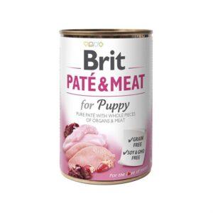 Консервы для щенков Brit Pate & Meat Puppy с курицей 400 гр.
