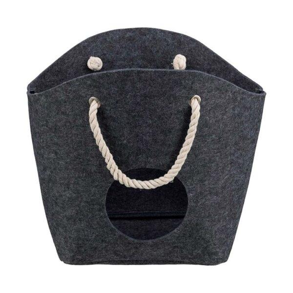 """Лежак-сумка для котов """"Polly"""" Trixie войлок, с ручками 50х38х20 см."""